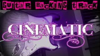 Cinematic Ambient Guitar Backing Track (Gm) | 60 bpm - MegaBackingTracks