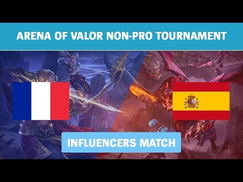 Highlights: France vs Spain - Influencers Match - AoV NPT Week 5