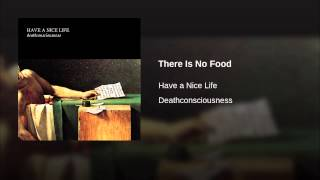 There Is No Food