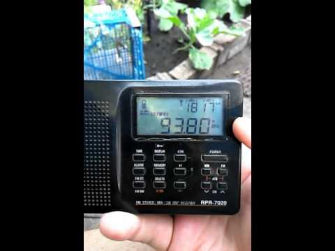 Es. 07.07.2016. 93.8 Radio Mayak, Novosibirsk. 1370km