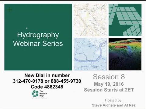 Hydrography Webinar Series - Session 8