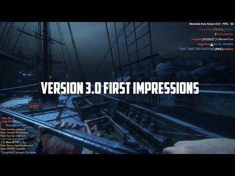 Blackwake - Pirates  -  Version 3.0 - First Impressions & Gameplay