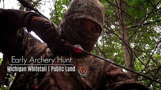 Early Season Bow Hunt || Michigan Deer Hunting