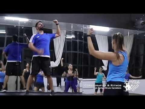 Noite de ritmos e coreografias com Carla e Bruno Candeloro
