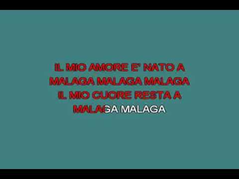 Malaga   Bongusto Fred [karaoke]