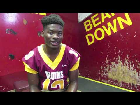 Long Beach Wilson football's Dejour Smith answers tough questions