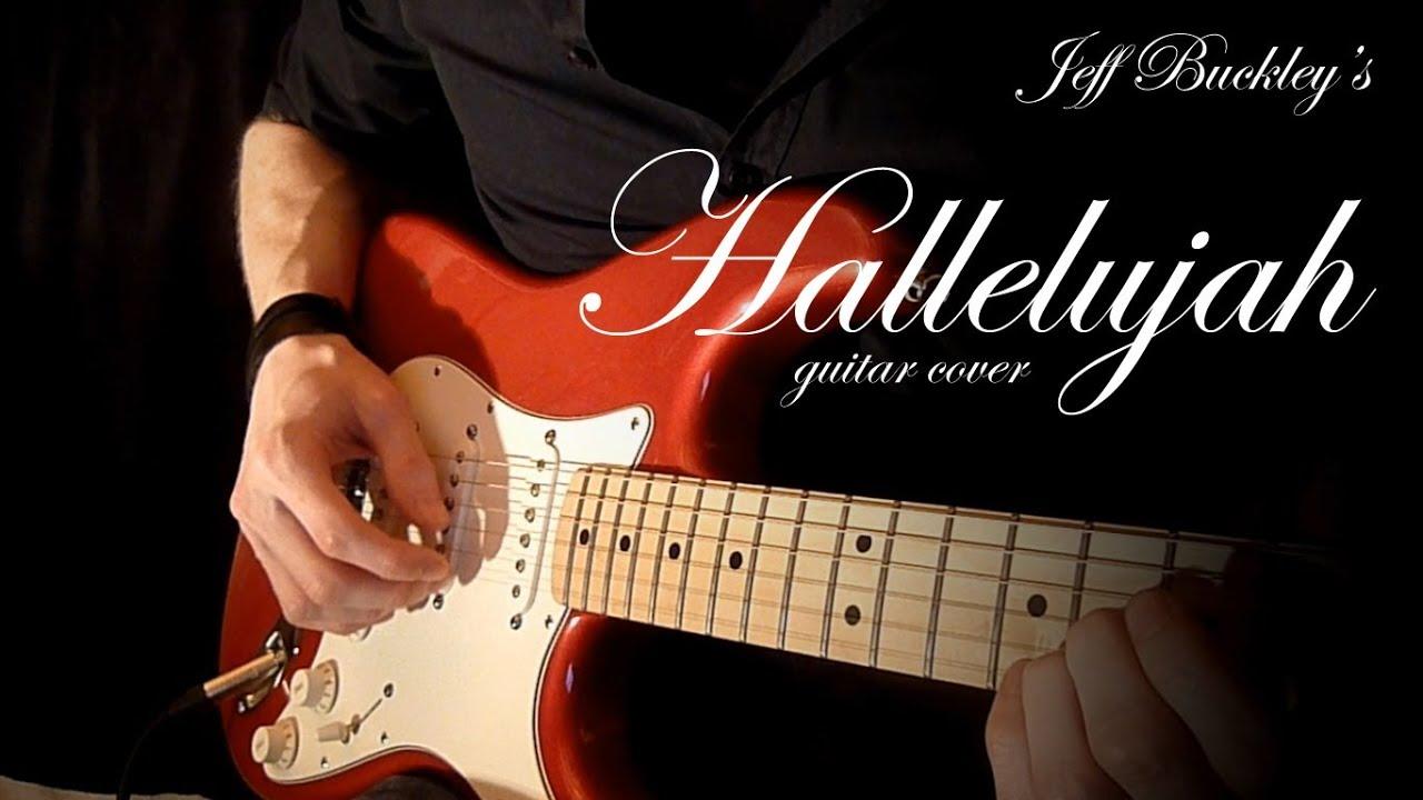 how to play hallelujah on guitar jeff buckley