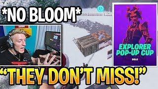 TFUE & CLOAK Ran Into Player With NO BLOOM In Pop Up Cup Duos Fortnite Highlights