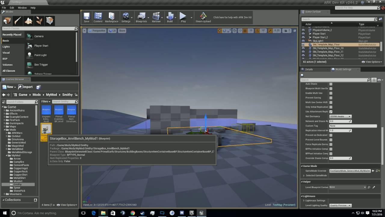 Ark dev kit tutorial 13 making a new smithy youtube ark dev kit tutorial 13 making a new smithy malvernweather Image collections