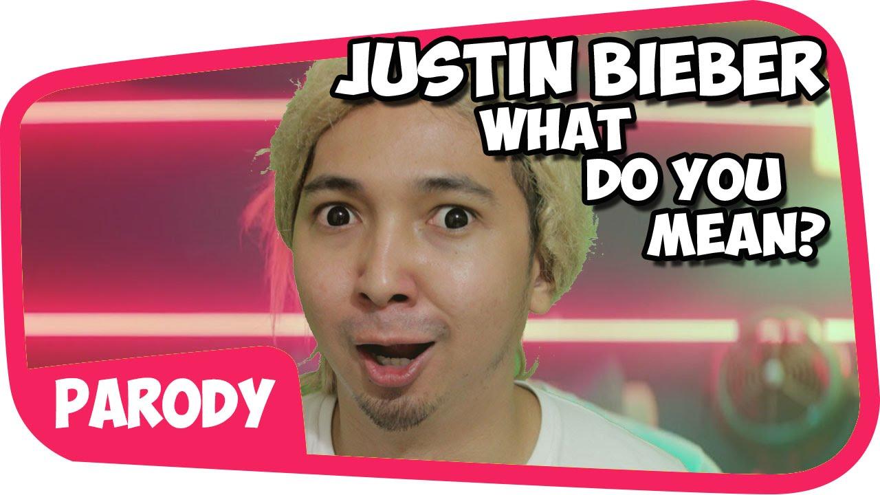 Justin Bieber - What Do You Mean PARODI !! - YouTube