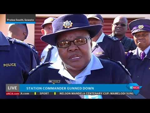SAPS briefing on killed station commander