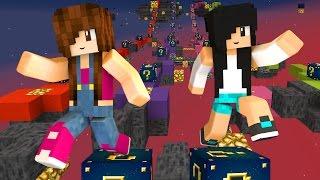 Minecraft Lucky Block - CORRIDA NO ESPAÇO