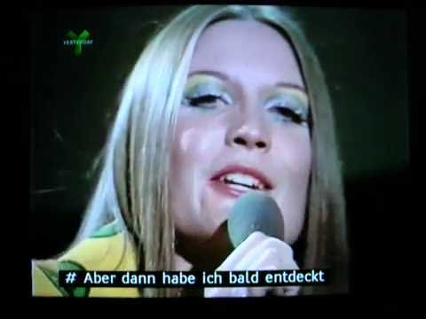 Pop Go The Sixties - Sandie Shaw sings Puppet on a String in German (includes subtitles)