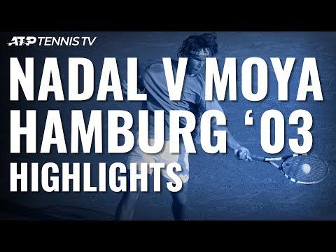 16-year-old Rafael Nadal beats Carlos Moya at Hamburg 2003