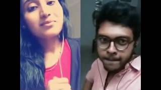 Ethrayo Janmamay Malayalam song duet in Smule