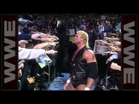 Sid makes his way to the ring for his WWE Championship Match: Survivor Series 1996