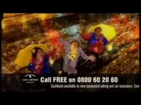 May McFetridge raining cash TV commercial ending three - welcome to Belfast