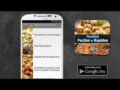 Recettes Faciles Et Rapides Applications Sur Google Play