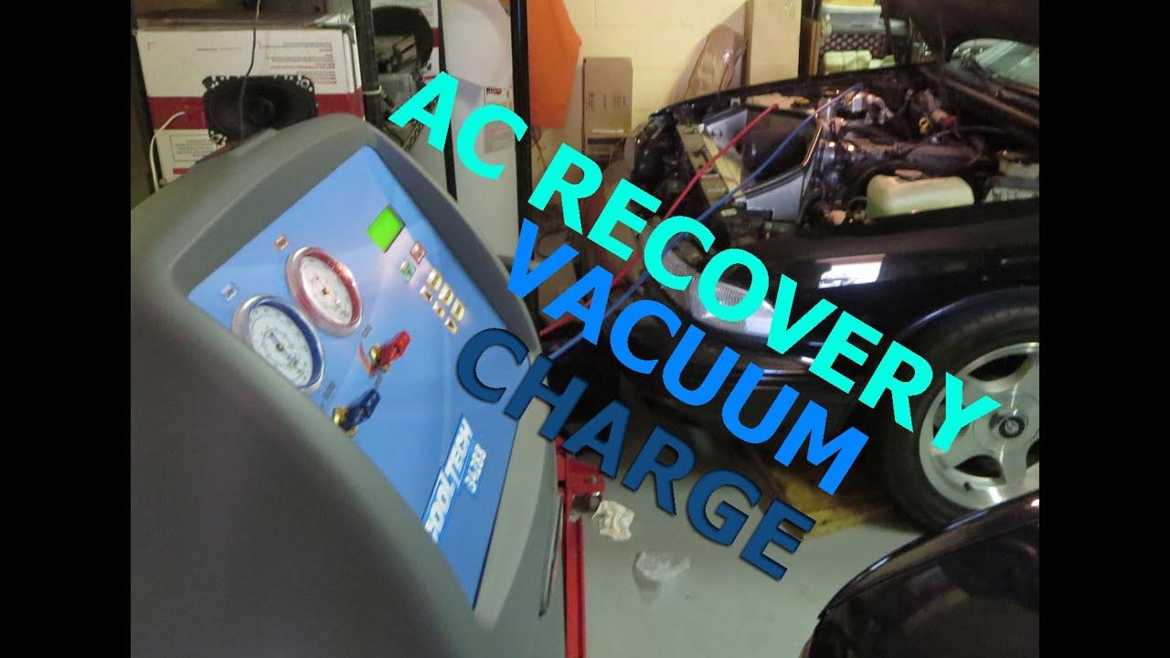 auto ac recovery machine