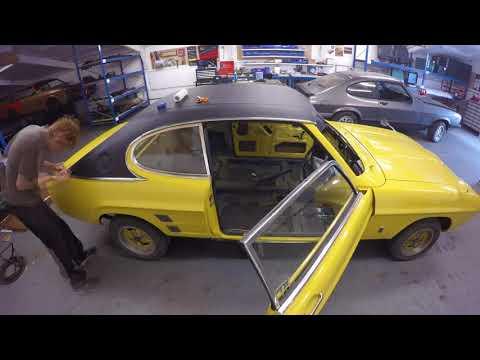 Ford Capri GT Restoration