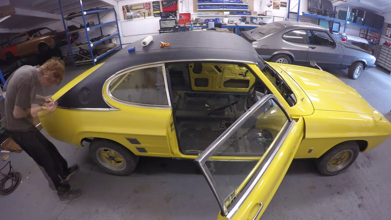 Ford Capri Gt Restoration Youtube