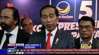 Tanggapan Jokowi Soal 2019 'Ganti Presiden'