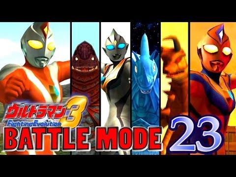 Ultraman FE3 - Battle Mode Part 23 - ULTRAMAN DYNA (  Strong Type ) 1080P HD 60fps