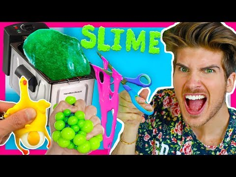 DON'T DEEP FRY SLIME OR STRESS TOYS!