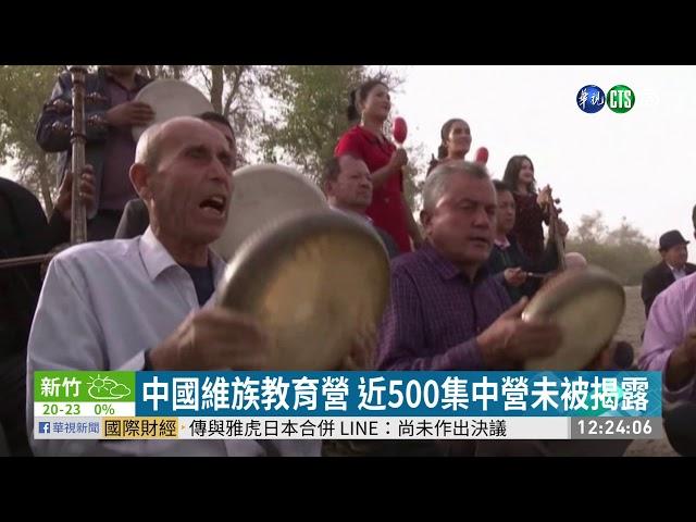 中國維族教育營 美估關押近300萬人 | 華視新聞 20191114