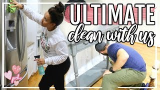 AFTER DARK ULTIMATE CLEAN WITH ME 2019 | CLEANING MOTIVATION HUGE DISASTER | Page Danielle