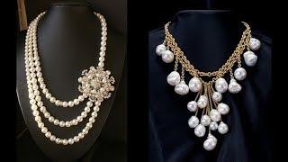 Exclusive Pearl Necklace Designs 2018