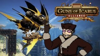 Guns of Icarus Alliance! - w/ Dodger, Cry, Criken, and Wade (LordMinion777)