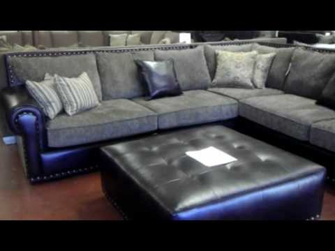 Robert Michaels Classic Sectional Couch VDub Furniture   YouTube