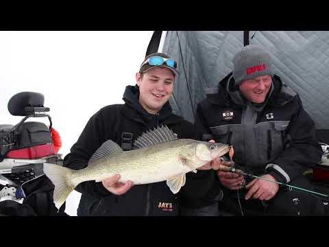 Saginaw Bay Walleye Ice Fishing