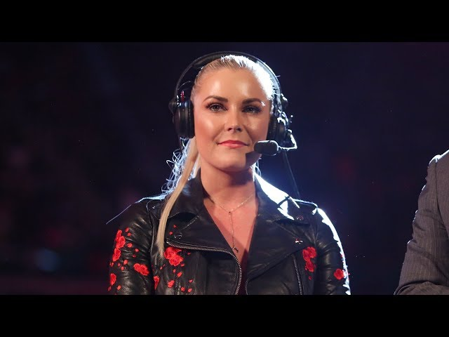 In another groundbreaking milestone of the Women's Evolution, Renee Young knocks it out of the park when she calls the action of WWE's flagship show en route to SummerSlam.