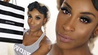 $1,200 SEPHORA COLLECTION Tutorial ! | Jackie Aina