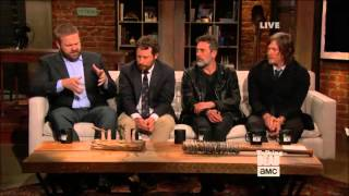 Talking Dead - Robert Kirkman & Scott M. Gimple on cliffhanger
