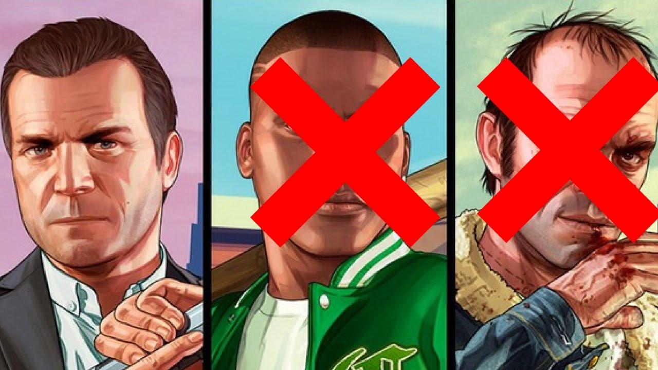 GTA 5 Michael Kills Franklin And Trevor Ending D | Racer lt