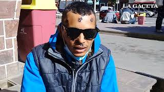 Adrian perdió un ojo tras una balacera de la policía, que quiso detenerlo por conducir sin barbijo