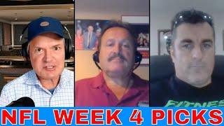 NFL Week 4 Picks and Predictions | Chiefs vs Eagles | Buccaneers vs Patriots | NFL Player Props
