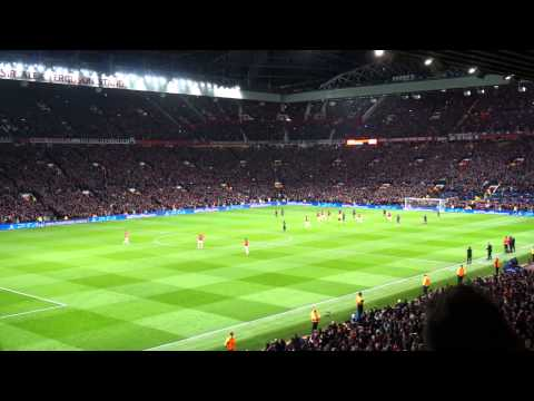 140319 Manchester United : Olympiacos 1st goal by Robin Van Persie