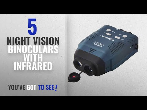 Top 10 Night Vision Binoculars With Infrared [2018]: Solomark Night Vision Monocular, Blue-infrared