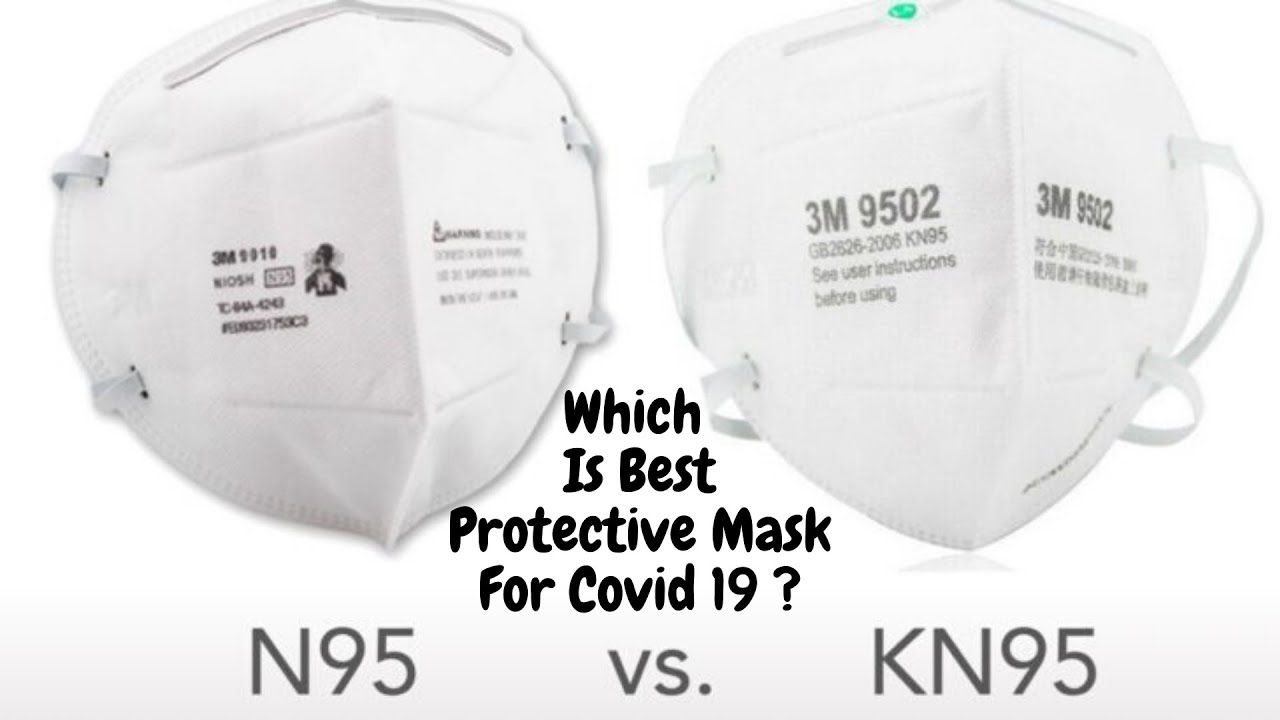 Mask Comparison | Difference Between N95 Vs KN95 Masks | Which Is Best Protective Mask For Covid 19