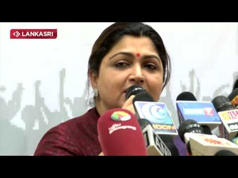 Kushboo Politics Funny Video | Comedy - Controversy | Election