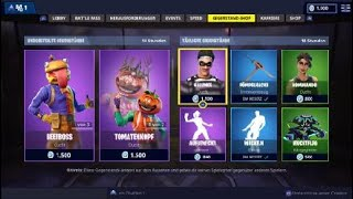 Tomatenkopf und durr Burger Skin im Shop! Magasin Quotidien vom 14.11 Fortnite Bataille Royale Deutsch