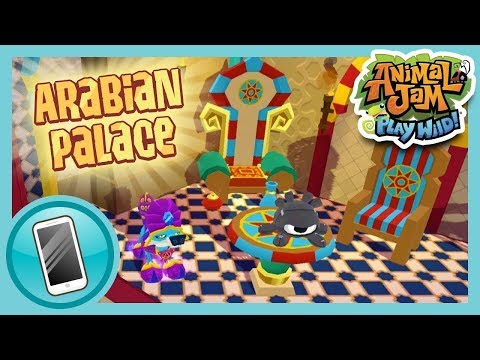 The Arabian Palace   Animal Jam Play Wild!