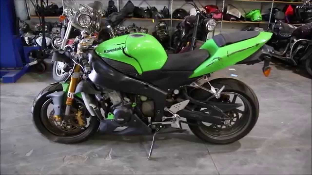 kawasaki 2005 zx6r 636 used parts youtube. Black Bedroom Furniture Sets. Home Design Ideas