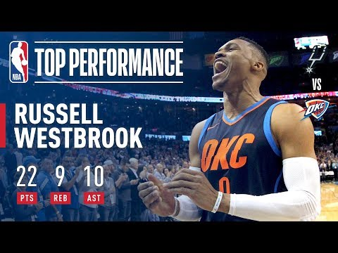 Russell Westbrook Records 7th Triple-Double of Season in Win | December 3, 2017