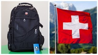 Швейцарский городской рюкзак SWISSGEAR обзор / Водонепроницаемый рюкзак свисгир