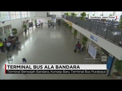 Terminal Bus Ala Bandara di Surabaya; Terminal Purabaya